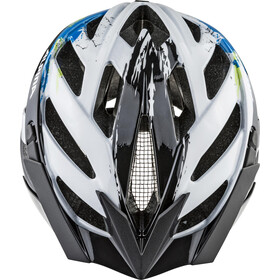 Alpina Panoma 2.0 Casque, white-cyan-green